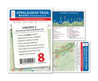 Appalachian Trail Map AT-8