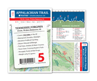 Appalachian Trail Map AT-5