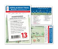 Appalachian Trail Map AT-13