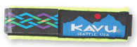 Kavu Watchband, Neon Rope Pattern, Small