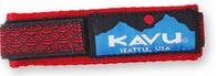 Kavu Watchband, Red BraId Pattern, Large