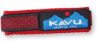 Kavu Watchband, Red Braid Pattern, Small
