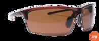 Reflekt Unsinkable Polarized Sunglasses Vapor - Caramel with Color Blast Brown Lens