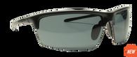 Reflekt Unsinkable Polarized Sunglasses Vapor - Raven with Color Blast Grey Lens.