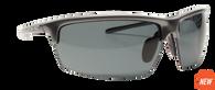 Reflekt Unsinkable Polarized Sunglasses Vapor - Gunmetal with Color Blast Grey Lens