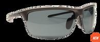 Reflekt Unsinkable Polarized Sunglasses Vapor 2.0 - Charcoal with Color Blast Grey Lens