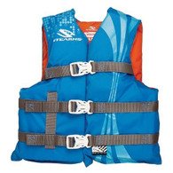 Stearns Youth Life Jacket - Blue (50-90 lbs)