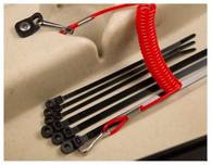 Premium Paddle Leash & Rod Mount Fitting