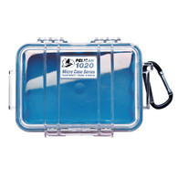 Pelican 1020 Micro Case Blue/Clear with Liner