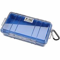 Pelican 1060 Micro Case - Clear/Blue