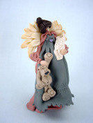 Mothers' Angel Polymer Clay Figurine