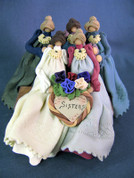 Five Sisters Polymer Clay Figurine