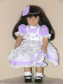 18 inch American Girl Doll Clothes Samantha EMBROIDERED PINAFORE