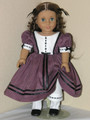 18 inch Handmade Doll Clothes Marie Grace Cecile Dress RosyMauve