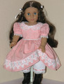 1850s Style Dress for American Dolls Marie Grace Cecile Tulips