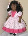 1850s Handmade Doll Clothes American Girl Marie Grace Rose Pink