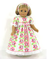 flannel doll nightgown