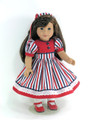 patriotic doll dress