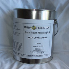 Clear UV blue Security Fluorescent Video using 365 nm blacklights and under regular light.