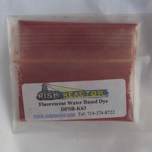 Orange UV dry powder craft Dye.