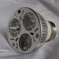 The 3 watt 385 nm Energy efficient UVLED Spot light uses only 3 Watts of power.