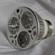 The 3 watt 385 nm Energy efficient UV LED Spot light uses only 3 Watts of power.