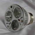 UV LED black light lamp bulb for regular screw in sockets.