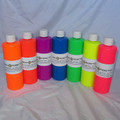 Black Light non-toxic washable body paints raves.