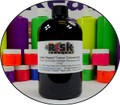 Fluorescent red bright UV dye colorants used for theatrical effects and non destructive leak testing.