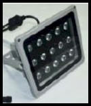 30 watt fluorescent UV floodlight used for non destructive testing inspections and curing