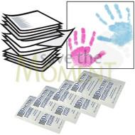 50 bulk wholesale kits of Dactek coloured inkless wipes and coated paper