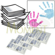 50 bulk wholesale kits of Dactek coloured inkless wipes and coated paper