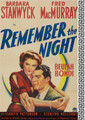 Remember The Night (1940) DVD