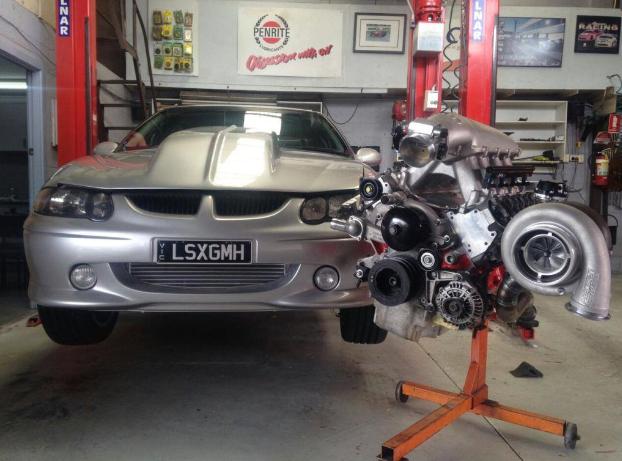 LSX 427ci Turbo Race Engine