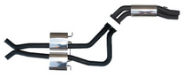 "Di Filippo Performance Exhausts VT-VZ Sedan Twin 3"" Inch Cat Back"