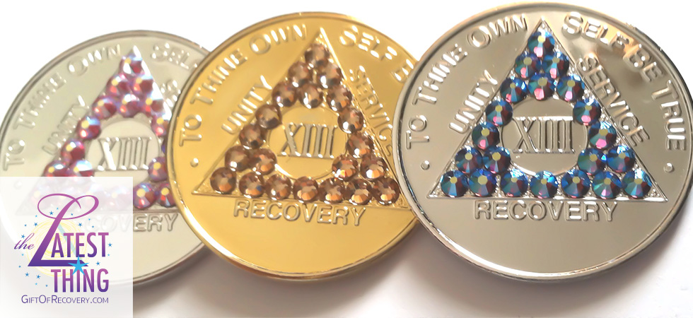 Welcome to GiftOfRecovery.com featuring Recovery Medallions