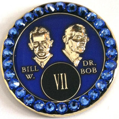 CRYSTALLIZED BLUE BILL & BOB TRIPLATE