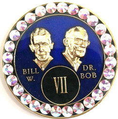 BLING BLUE BILL & BOB TRIPLATE