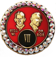 BLING RED BILL & BOB TRIPLATE