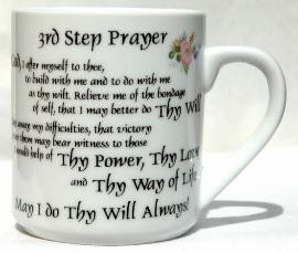 3rd STEP PRAYER MUG