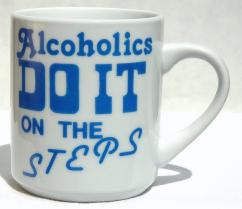 DO IT ON THE STEPS MUG