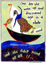 AGE IS A STATE OF MIND CARD