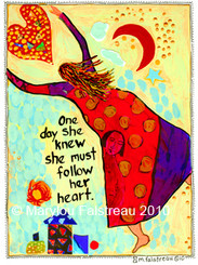 FOLLOWED HER HEART CARD