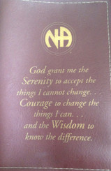 NA SERENITY PRAYER BOOK COVER