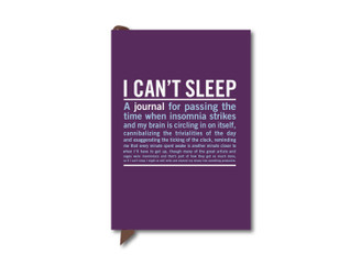 CAN'T SLEEP POCKET SIZE JOURNAL