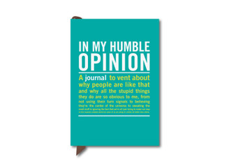 MY HUMBLE OPINION POCKET SIZE JOURNAL