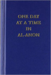 ONE DAY AT A TIME IN AL ANON - SMALL HARDCOVER