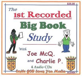 THE 1ST RECORDED BIG BOOK STUDY WITH JOE MCQ. & CHARLIE P. AUDIO CD'S