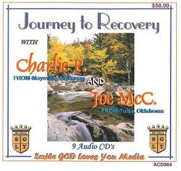 JOURNEY TO RECOVERY WITH JOE MCQ. & CHARLIE P. AUDIO CD'S