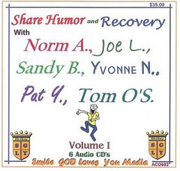 SHARE HUMOR AND RECOVERY VOL I. AUDIO CD'S